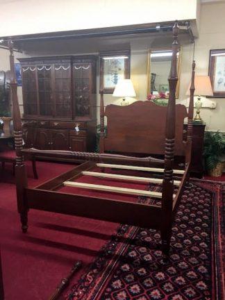 Custom Cherry Queen Size Bed