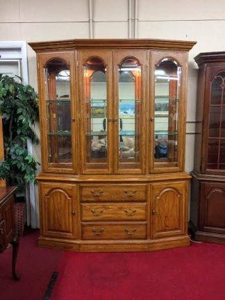 Pennsylvania House Oak China Cabinet