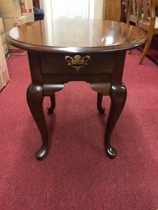 Broyhill Oval Lamp Table