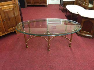 Glass Top Coffee Table