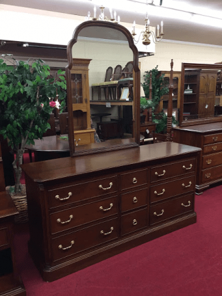 Ethan Allen Dresser with Mirror