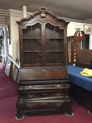 Vintage Henredon French Secretary Desk