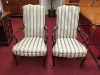 Queen Anne Upholstered Chairs