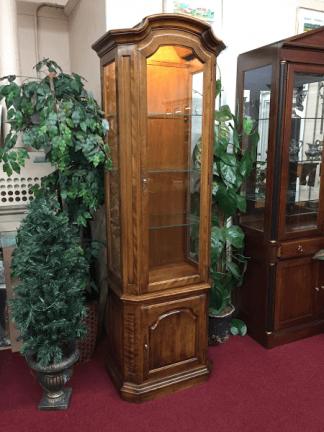 Ethan Allen Vintage Curio Cabinet