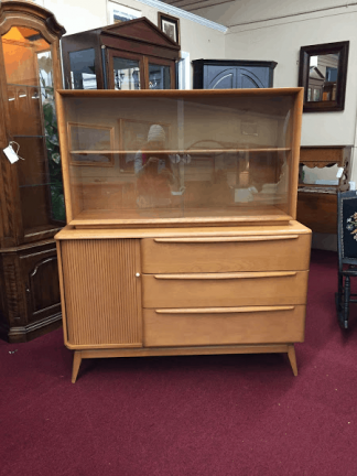 Heywood Wakefield Hutch Cabinet
