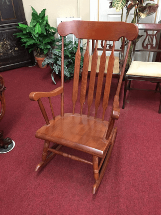Cherry Finish Rocking Chair