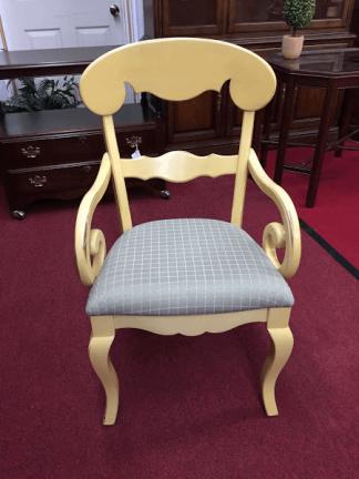 Nichols and Stone Yellow Arm Chairs