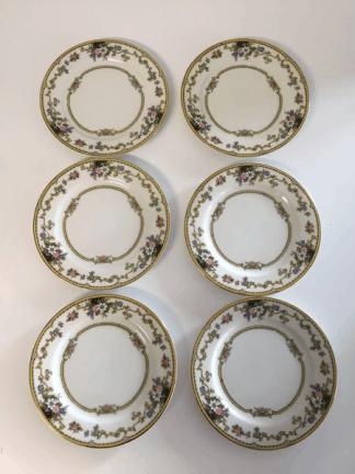 "Noritake ""Cordova"" Cake Plates"