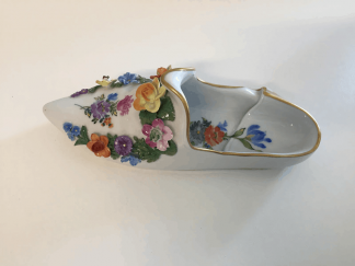 Antique Dresden Shoe