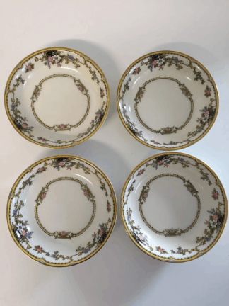 "Noritake ""Cordova"" Fruit and Nut Bowls"