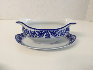 "Nippon ""Royal Sometuke"" Gravy Boat"