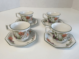 Johnson Brothers Tea Cups and Saucers