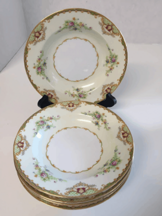 Empress China Soup Bowls - Set of Five