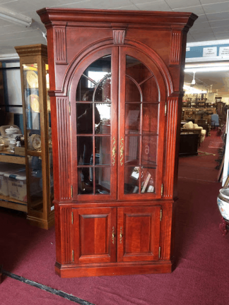 Pennsylvania House Cherry Corner Cabinet