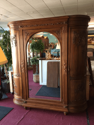 Antique European Armoire Wardrobe