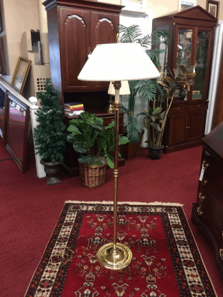 Vintage Baldwin Brass Floor Lamp