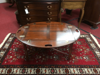 Vintage Mahogany Butler's Table