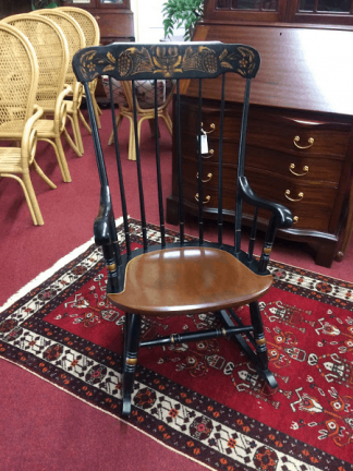 Vintage Hitchcock Rocking Chair