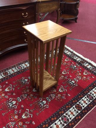 Mission Style Oak Pedestal or Table