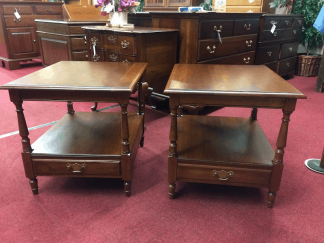 Pennsylvania House Cherry End Tables - A Pair