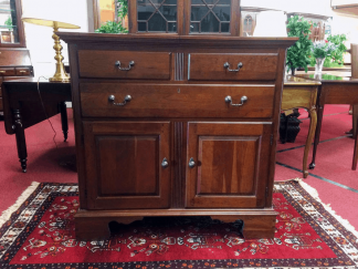 Pennsylvania House Cherry Flip Top Server