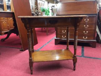 Victorian Oak Hall Table