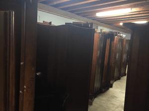 how to shorten antique church pews
