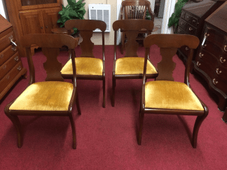 Vintage Craftique Dining Chairs - Set of Four