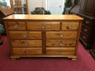 Vintage Rustic Knotty Pine Dresser