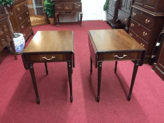 Vintage Mahogany Pembroke End Tables