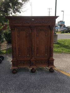 furniture gallery, antique cabinet