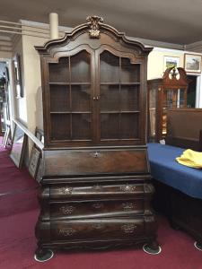 vintage Henredon country french secretary desk