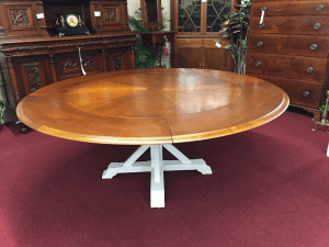extending table, gallery furniture