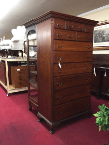 tall chest, antique chest