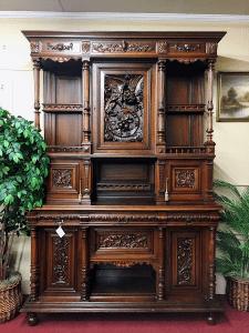 antique cabinet, gallery furniture