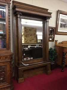 tall antique mirror
