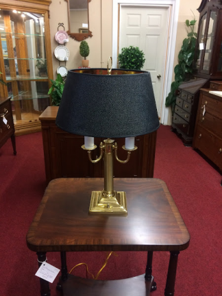 Brass Federal Style Lamp