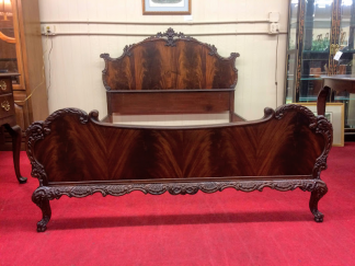 Antique French Style Bed (Full Size)