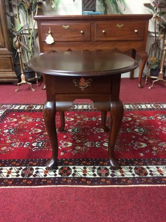 Vintage Broyhill Cherry End Table