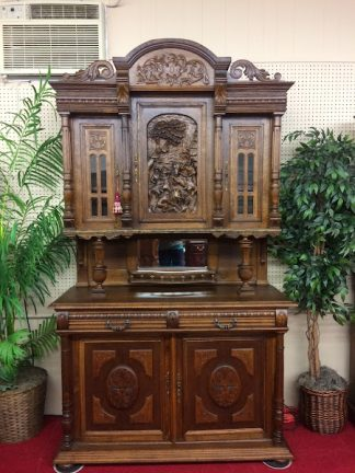 Antique European Bar Cabinet