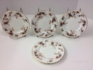 "Vintage Minton ""Ancestral"" Dessert Plates"