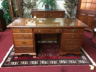 Vintage Custom Made Executive Desk