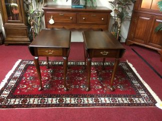 Vintage Statton End Tables, The Pair