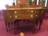 Inlaid Federal Style Mahogany Antique Sideboard