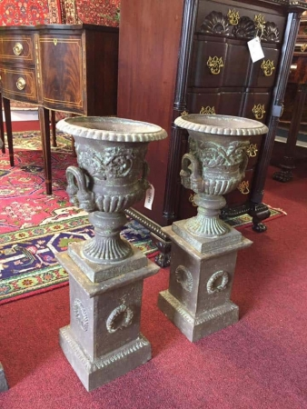Vintage Outdoor Urns