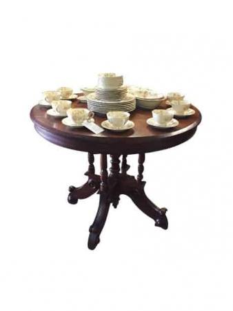 Victorian Antique Walnut Center Table