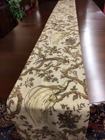 Table runner Pheasants