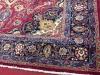 Authentic Mashad Persian Room Size Rug