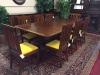 Baker dining room table