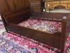 Antique Mahogany Panel Bed